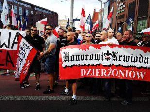 Wroclaw marsz antyimigrancki BH